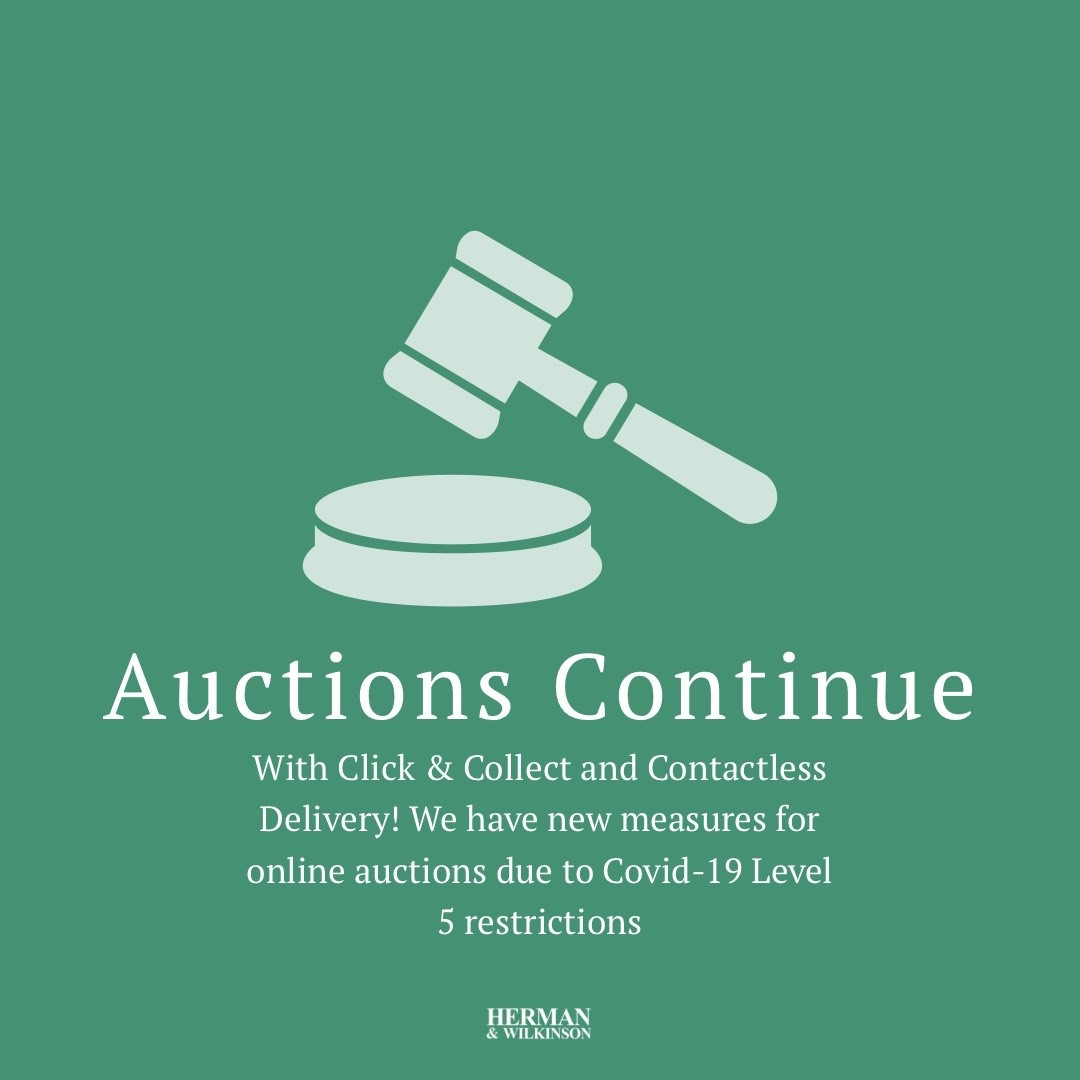 Auctions Continue With Changes Due To Level 5 Restrictions
