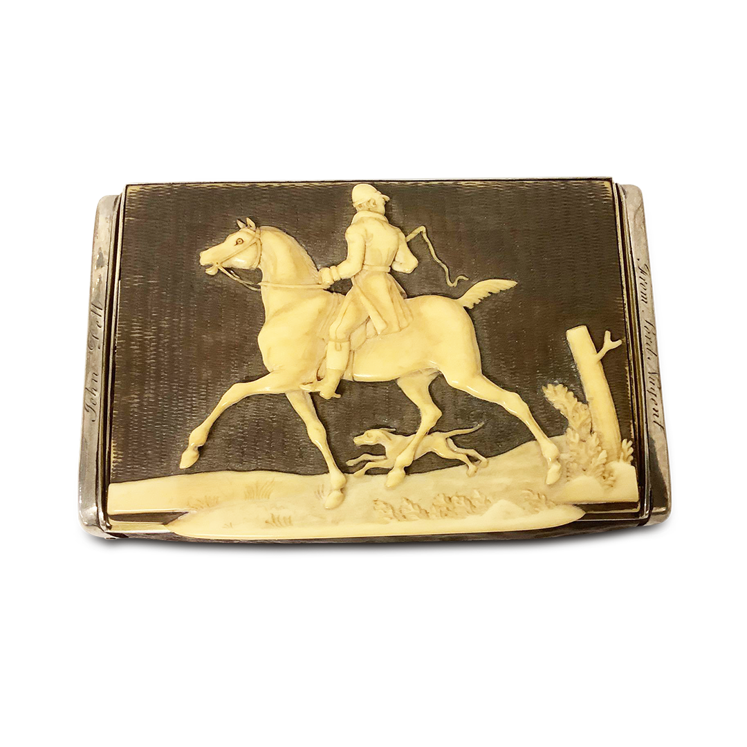 Snuffed At The Hunt – A Fine Example Of A Victorian Snuff Box